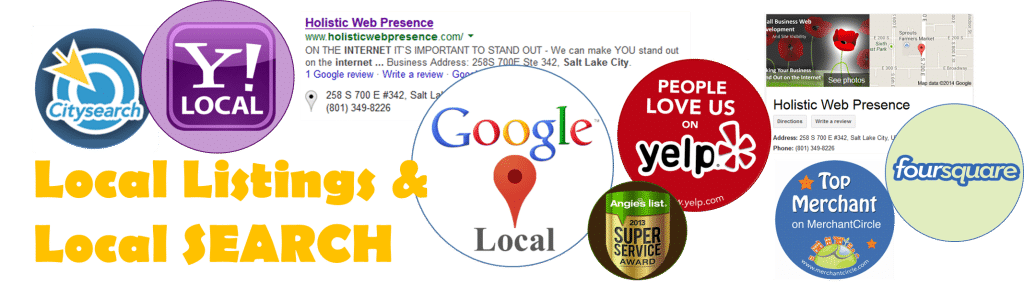 Local Listings and Local SEARCH