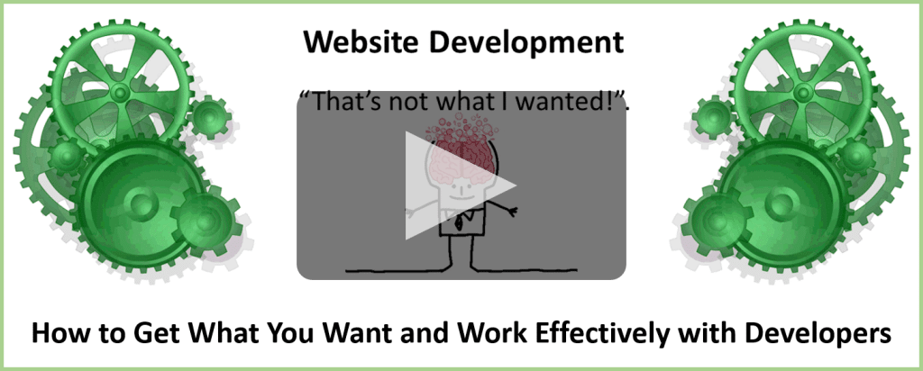 Website Development Training for Small Businesses and Owners