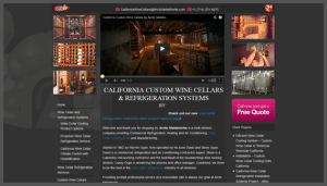 Click here to see the live Arctic Metalworks Corona California Website Design