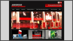 Click here to see the live Greveco Orange California Website Design