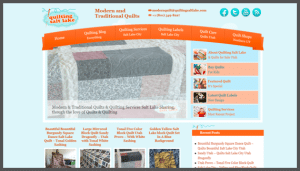 Click here to see the live Quilting Salt Lake Website Design