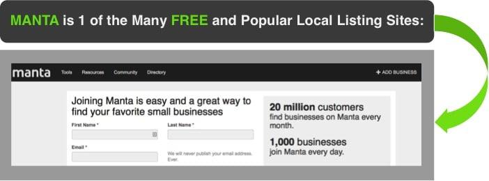 local sites free