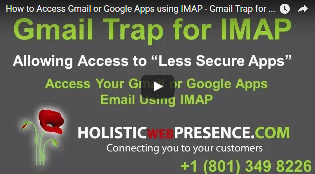 How to Access Gmail or Google Apps using IMAP – Gmail Trap