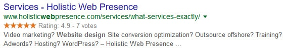 Holistic Web Presence Reviews - 5 Star Rating - What People Are Saying