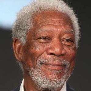 Morgan Freeman a movie star with natural presence right
