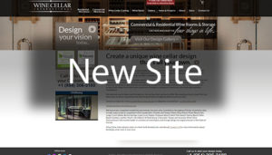 Click here to see the live Wine Cellar International Florida Website Design