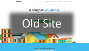 Click here to see the old Simple House Solutions Website Design