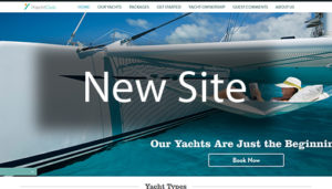 Click here to see the live iYachtclub Website Design