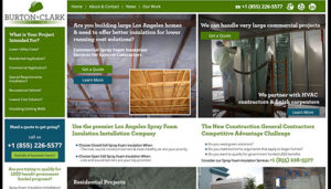Click here to see the live Burton and Clark Website Design