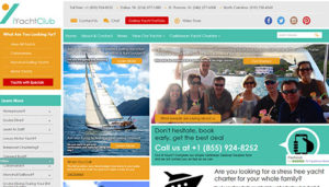 Click here to see the revised iYachtclub Website Design