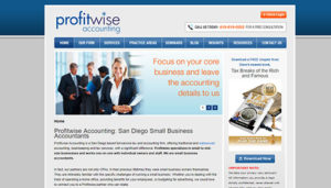 Click here to see the old ProfitwiseAccounting Website Design